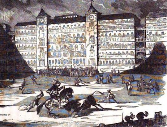 FALLECIDOS EN LA PLAZA MAYOR DE MADRID EN 1597